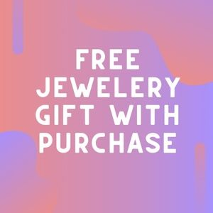 Jewelry gift with purchase